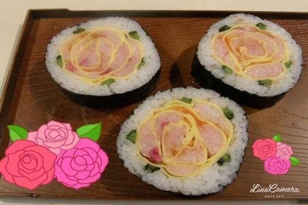 3巻き寿司
