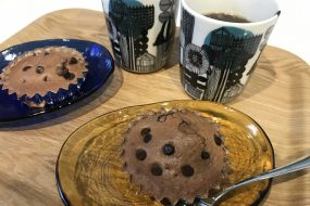 【魚焼きグリル活用法】簡単ココアケーキ