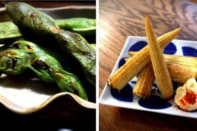 魚焼きグリルで初夏の味覚を~そら豆&ヤングコーン 簡単時短調理法~